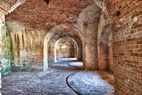 5099 Gun ports of Fort Pickens
