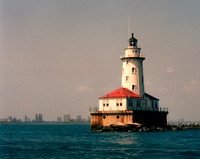 1357 Chicago Light House    Chicago Lake Front